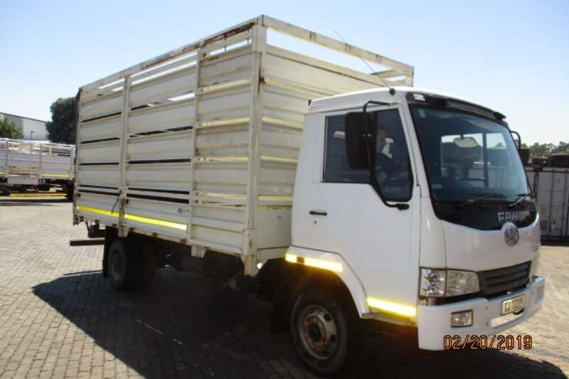 FAW Truck Cattle Body FAW 9-140 HORSE BODY  2013