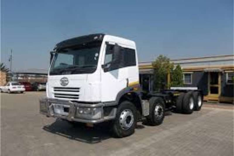FAW Chassis cab FAW 35.340 FD 8x4 Twin Steer Chassis Cab Only Truck