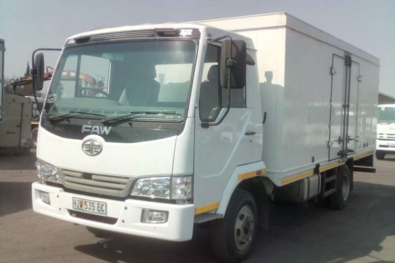 FAW Truck Closed Body CA SERIES 9.130 5 TON BOX BODY 2014