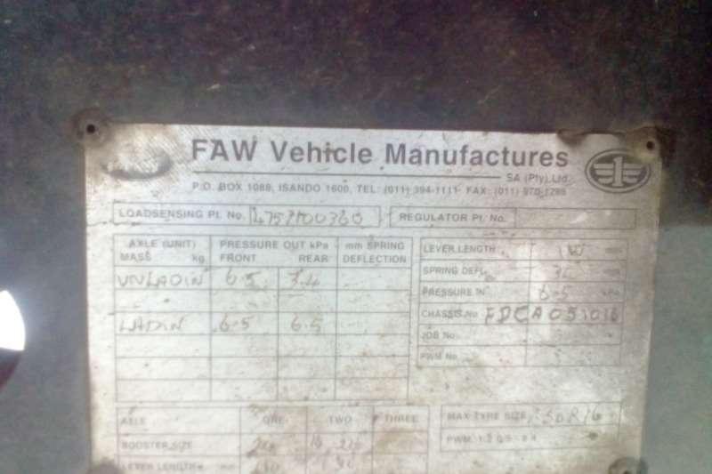 FAW Closed body CA SERIES 9.130 5 TON BOX BODY Truck