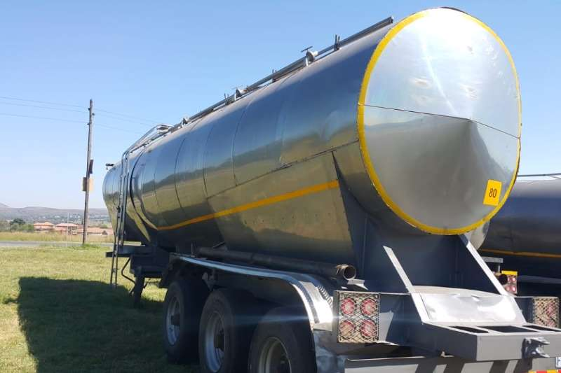 Flexi Manufacturing Stainless steel trailer 28000lt Trailers