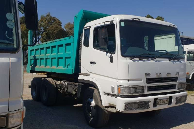 Fuso 6x4 fitted with a 10 cube tipping body.