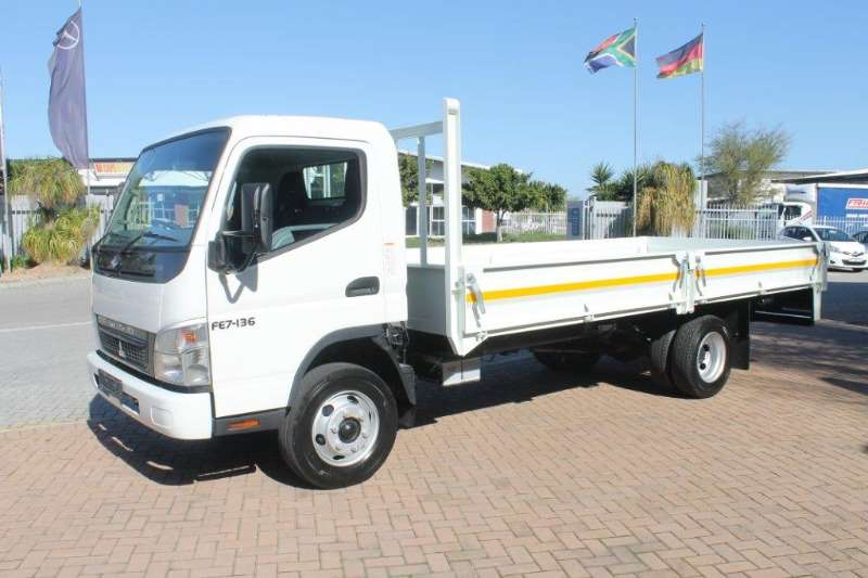 Fuso Dropside New Canter FE7 136 Dropside Truck