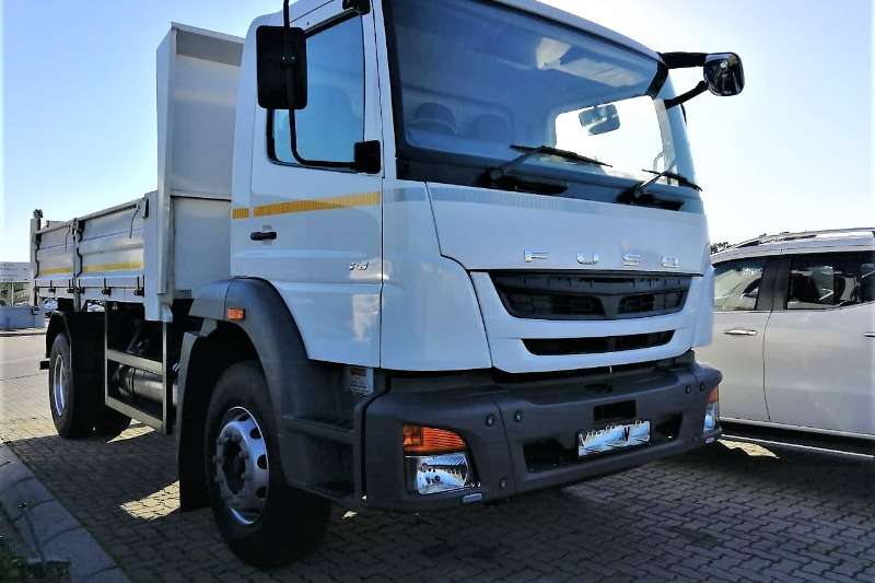 Fuso Truck Tipping Body FJ 6 Cube Tipper 2018