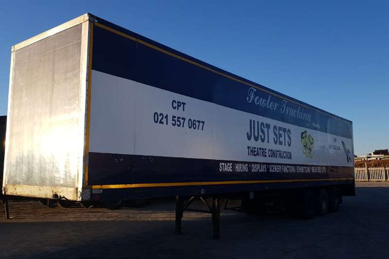 Hendred Pantech Closed Body Trailers