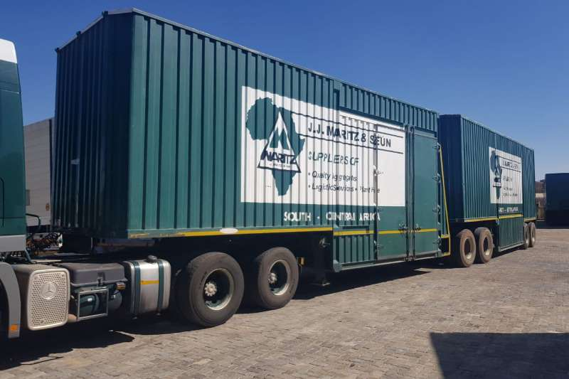 Hendred Pantech CLOSED BODY FURNITURE Trailers