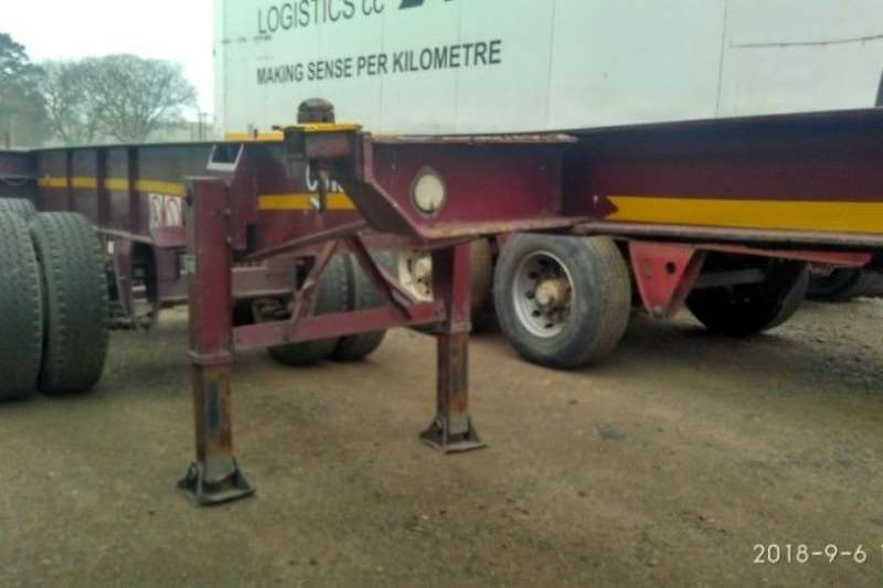 Hendred Trailers Skeletal SKELIS 6M TRAILERS IN IMMACULATE CONDITION 1992