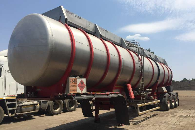 Henred Fruehauf 45000LT Double Conical Chemical