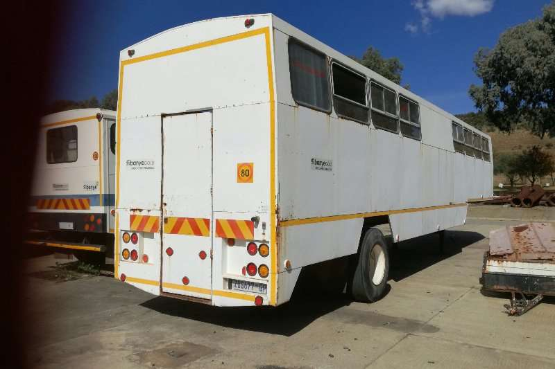 Henred Site office trailer Single Axle Personnel Carrier Trailers