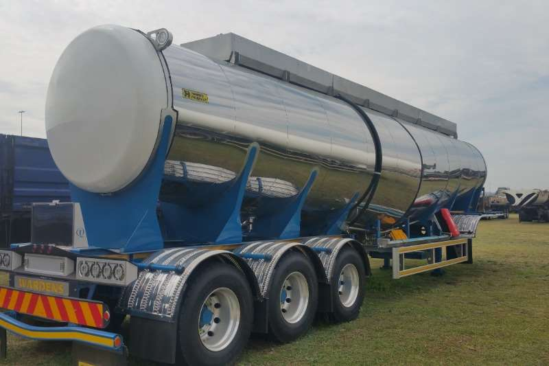 Henred Stainless steel tank Tanker HFO & Oil Trailers