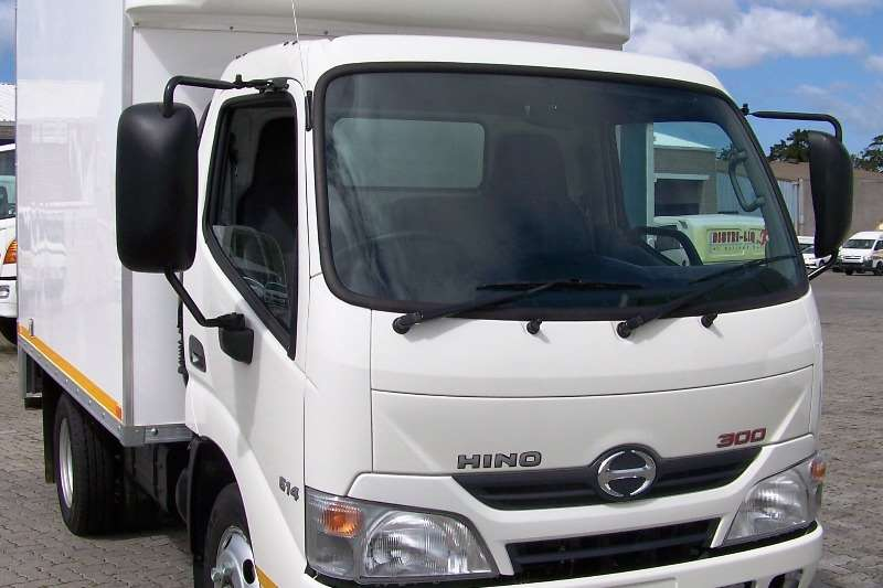 Hino Demo Hino 300 - 614 SWB AT with GRP Van Body
