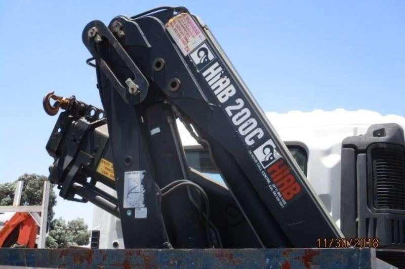 Hino Crane truck 700 28 418 F/C D/S Hiab 200C Crane Truck