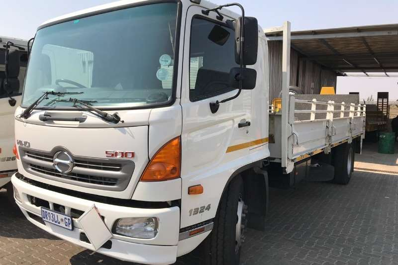 2015 Hino 2015 Hino 1324 Drop Side Dropside Truck Trucks For Sale In
