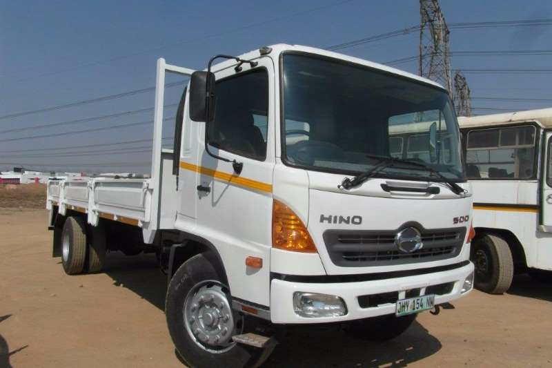 2015 Hino 500 8 Ton Dropside Dropside Truck Trucks For Sale In