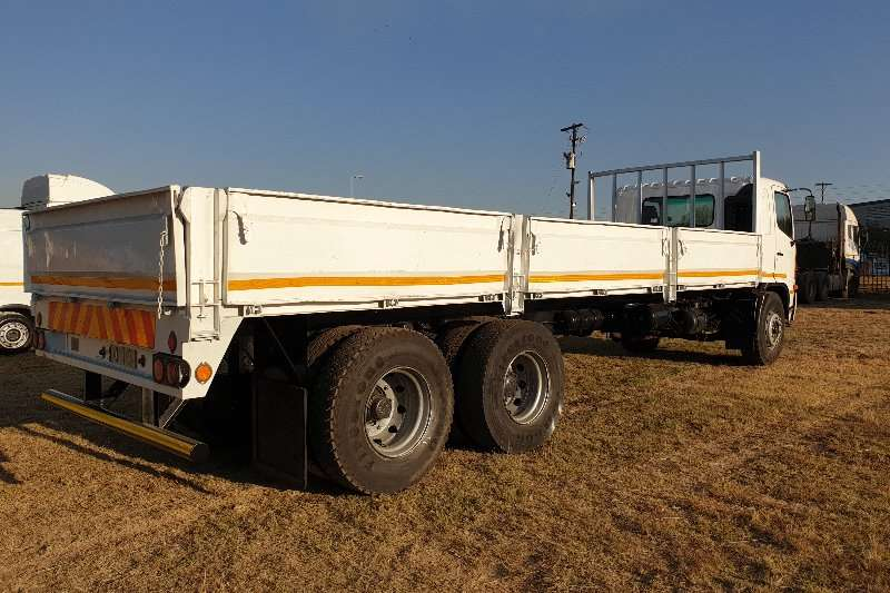 Hino Dropside Hino 17 257 with 8m Dropside Body & Tag Axle Truck