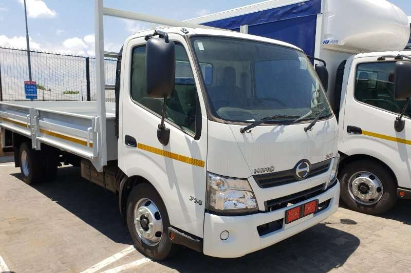 Manual Trucks For Sale >> 2019 Hino Hino 300 Series 714 Manual Dropside Truck Trucks