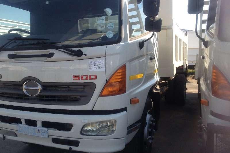 Hino Tipper Hino 500 6 Cube Truck