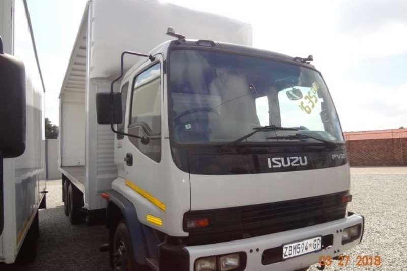 Isuzu FVZ 1400 curtain sides