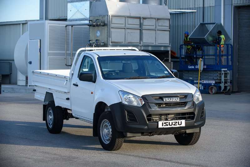 Isuzu KB 250 Base with Dropside LDVs & panel vans