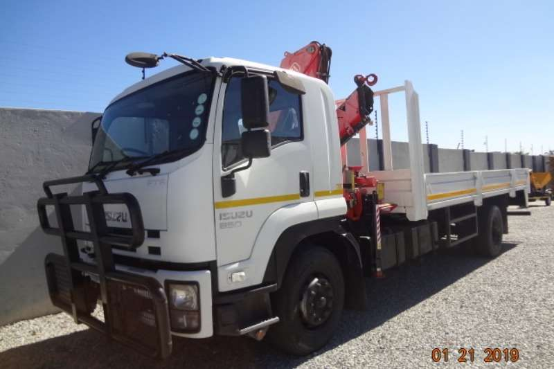Isuzu Crane truck Isuzu 850 with Fassi crane Truck