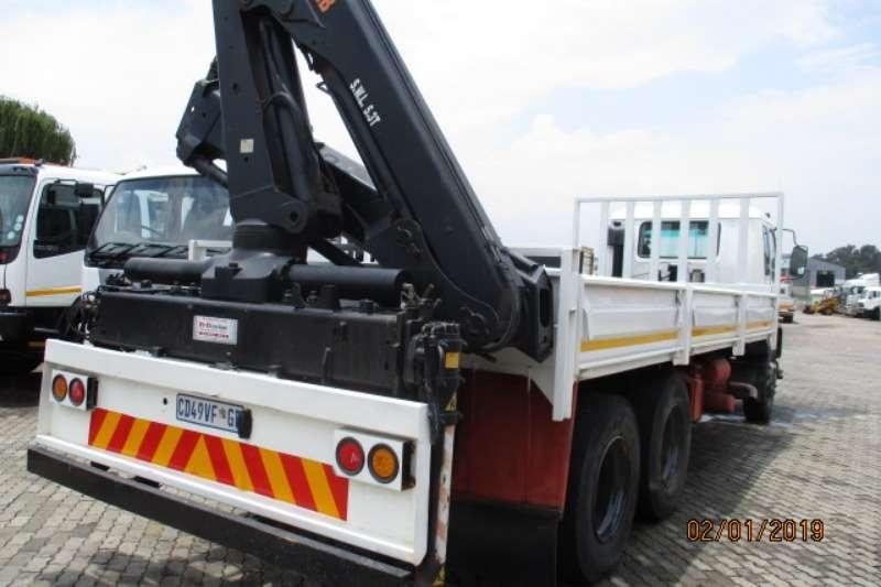 Isuzu Crane truck ISUZU FVZ1400 DROPSIDE WITH HIAB 166XS REAR CRANE Truck
