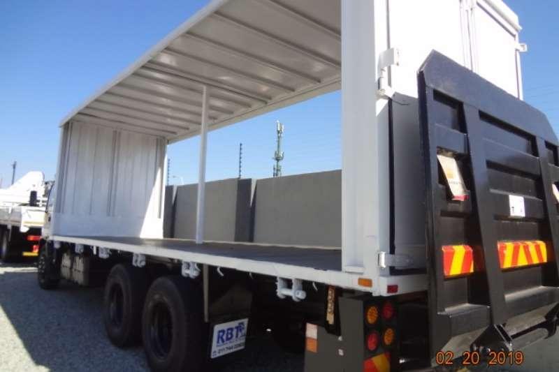 Isuzu Curtain side FTM1200 cs Truck