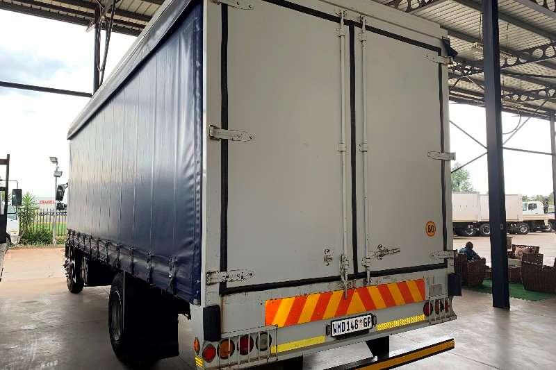 Isuzu Curtain side FTR 800 F/C 8 Ton Curtain Side Truck