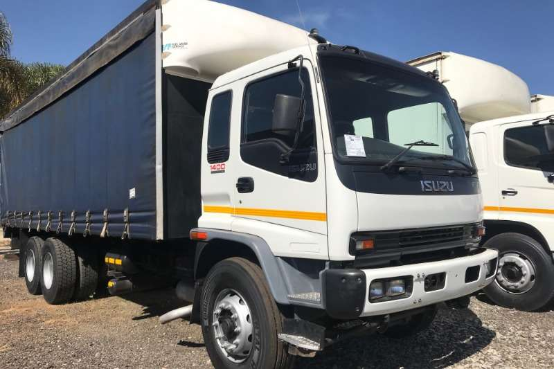 Isuzu Truck Curtain Side FVZ1400 Turbo Curtain Side 2006