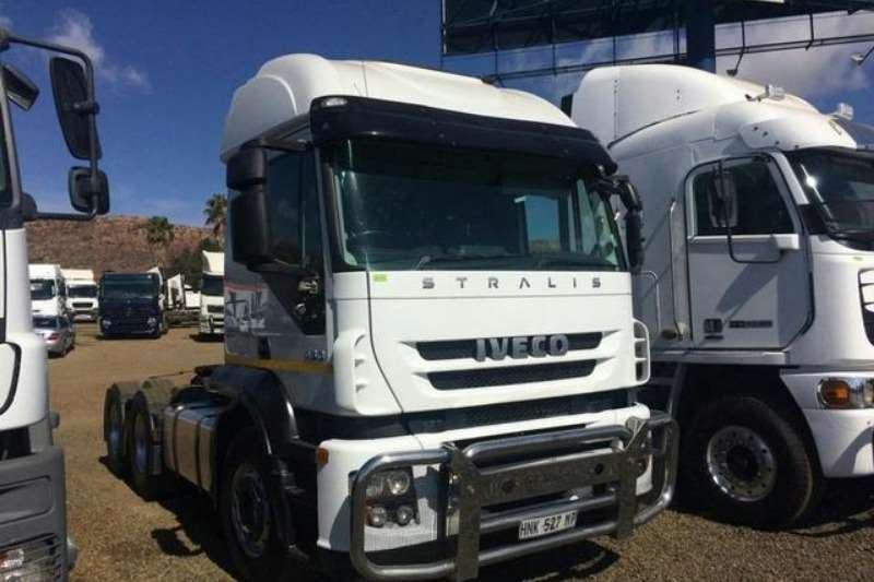 Iveco Truck Chassis Cab Iveco Stralis 430 TT 6×4 2015