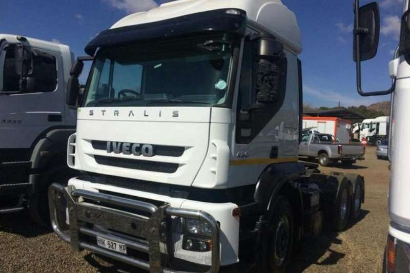 Iveco Chassis cab Iveco Stralis 430 TT 6×4 Truck