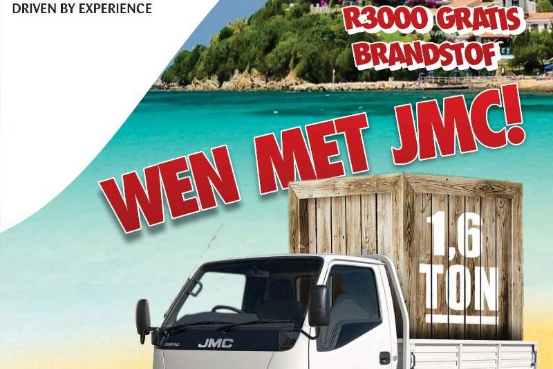 JMC 2 TON 1.6 Ton Payload. Code 08 License Only. 84 KW