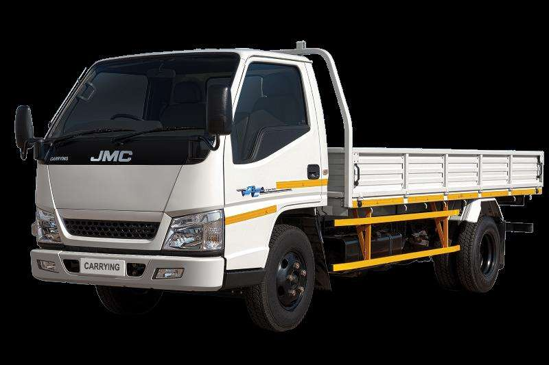 JMC Truck Dropside (3 Ton) 2.8 Ton Payload. 84 KW LWB LUX Dropside 2019