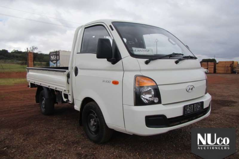 LDVs & Panel Vans Hyundai HYUNDAI H-100 DROPSIDE LDV 2015