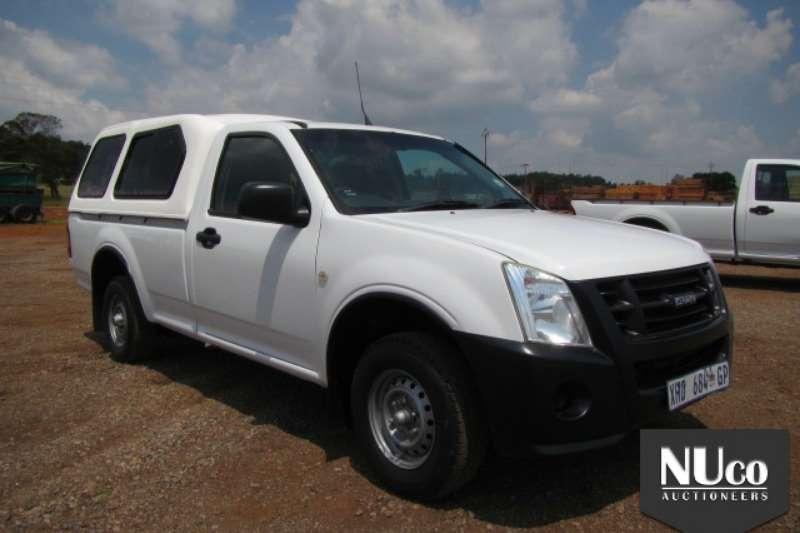 LDVs & Panel Vans Isuzu ISUZU KB250 SINGLE CAB LDV WITH CANOPY 2008