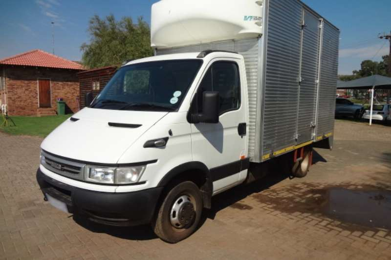 LDVs & Panel Vans Iveco 50C13 with Volume Van Body 2005