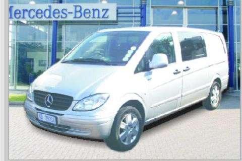 LDVs & Panel Vans Mercedes Benz Benz Vito 115 CDi- 2009