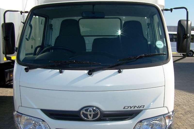 Toyota Demo Toyota Dyna 150 with GRP Van Body LDVs & panel vans