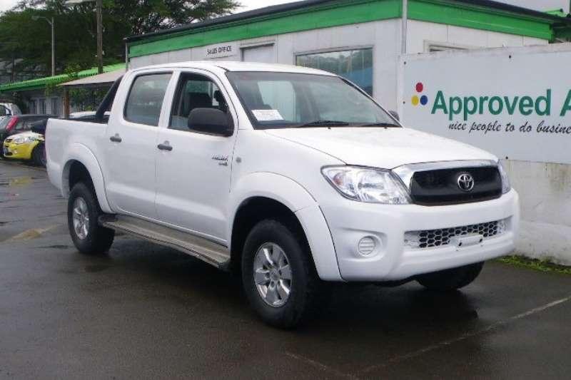 LDVs & Panel Vans Toyota Hilux D-4D double cab 2010