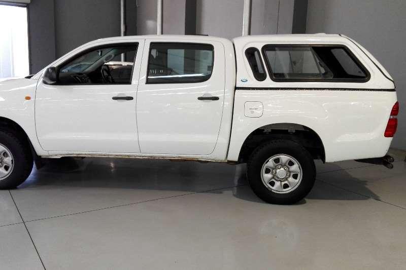 Toyota Toyota Hilux 2.5 D 4D D/cab 4X4 Srx LDVs & panel vans