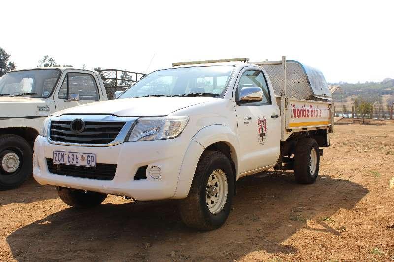 LDVs & Panel Vans Toyota Toyota Hilux 2.5 d4d Single cab (non runner) 0
