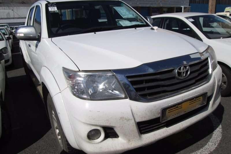 LDVs & Panel Vans Toyota Toyota Hilux 2.7 4x2 D/Cab Car 2012