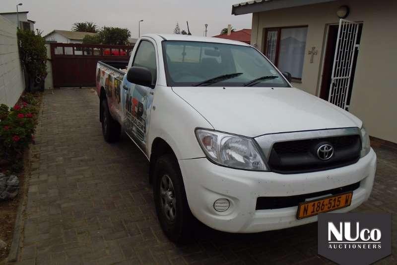 LDVs & Panel Vans Toyota TOYOTA HILUX SINGLE CAB 2011