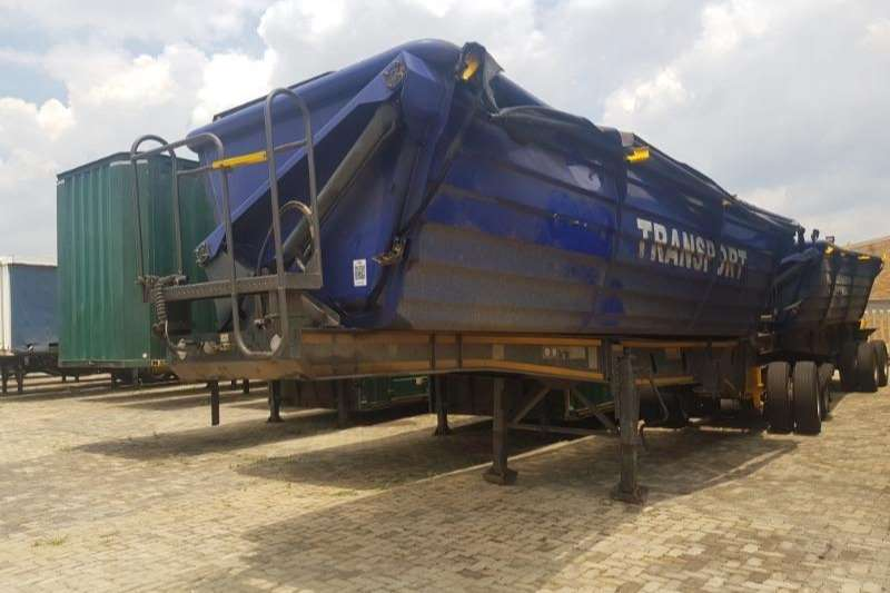 Leader Trailer Bodies Trailers Side Tipper Side Tipper Link 2018