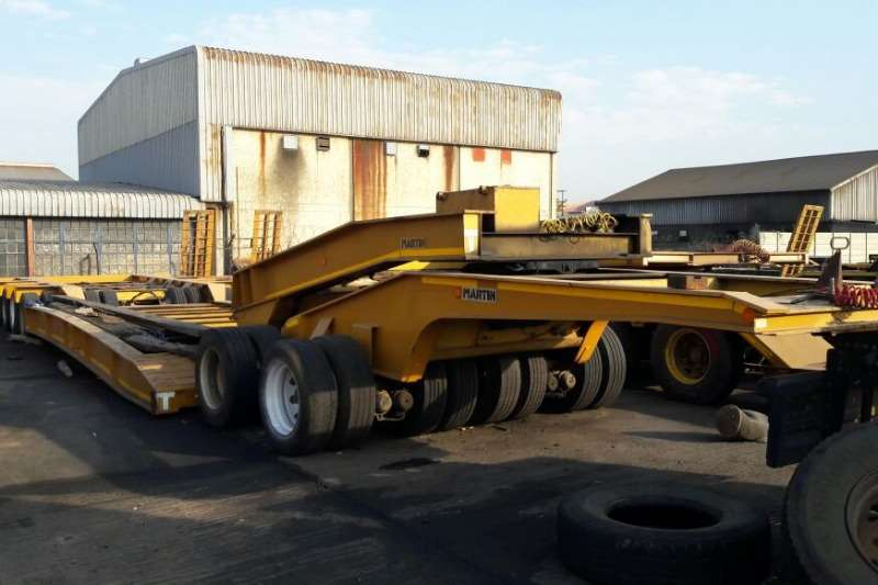 Lowbeds Martin Used 4 Axle Lowbed and Double Axle Dolly Available 2011