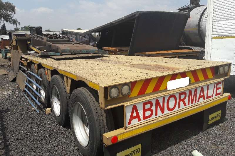 Lowbeds Martin Used Martin Gooseneck 4 Axle Lowbed Available 2006