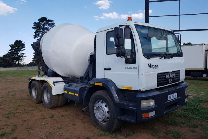 MAN MAN 26.280 6m3  Concrete Mixer