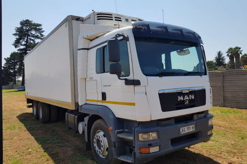 MAN MAN TGS25.280 Fridge Truck