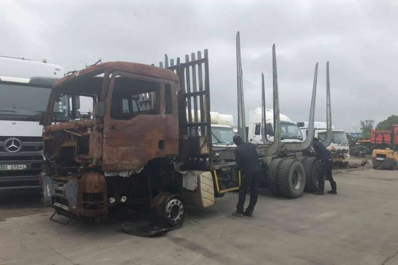 MAN Chassis cab TGS 33480 Truck