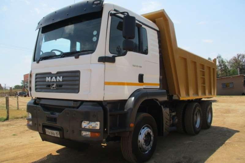 MAN Truck Tipper MAN TGA 33.410 10 CUBE TIPPER