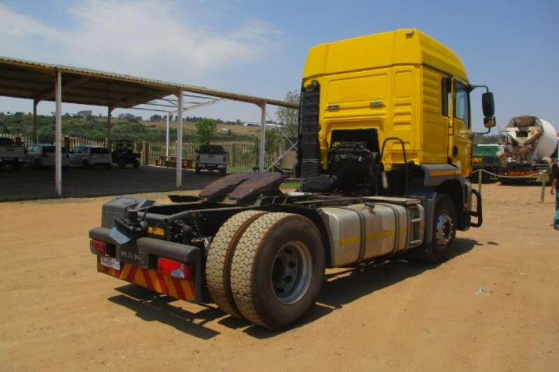 MAN Single axle MAN TGA 15.400 4X2 MECHANICAL HORSE Truck-Tractor